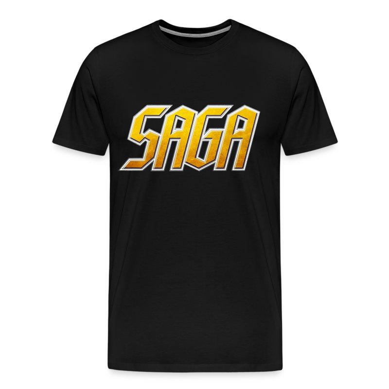 SAGA Logo T - Men's Premium T-Shirt