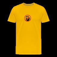 T-Shirts ~ Men's Premium T-Shirt ~ Men's 100% Electric Yellow