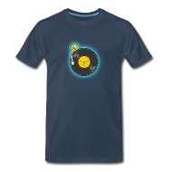 T-Shirts ~ Men's Premium T-Shirt ~ Baby Scratch Icon