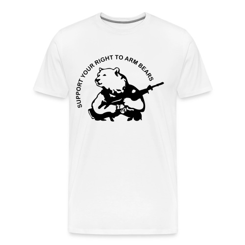 Right to Bear Arms or something like that... - Men's Premium T-Shirt