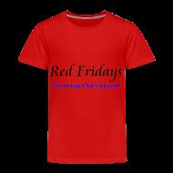 Baby & Toddler Shirts ~ Toddler Premium T-Shirt ~ Red Fridays