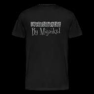 T-Shirts ~ Men's Premium T-Shirt ~ Msjinkzd: Men's Flock Printed T