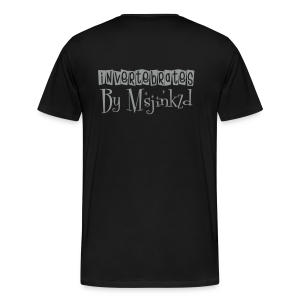 Msjinkzd: Men's Flock Printed T - Men's Premium T-Shirt