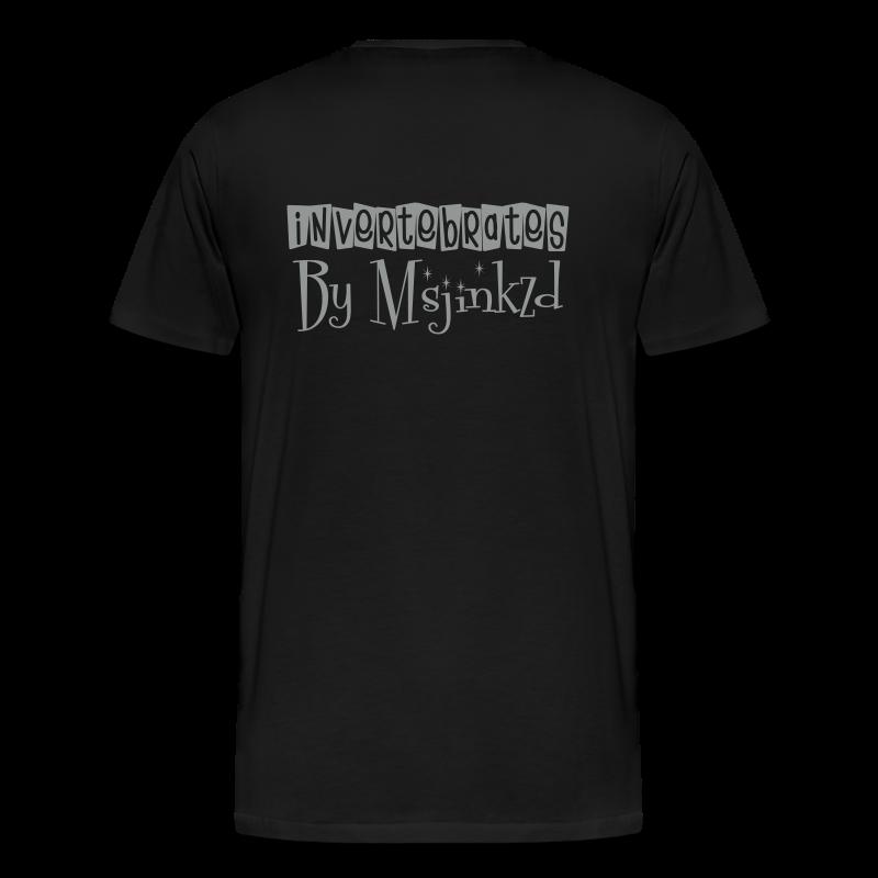 Msjinkzd: Men's Flock Printed T - Men's Premium T-Shirt