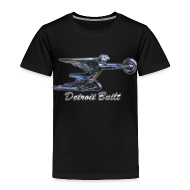 Baby & Toddler Shirts ~ Toddler Premium T-Shirt ~ Detroit Built Packard Hood Ornament Toddler T-Shirt