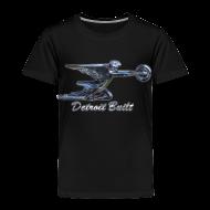 Baby & Toddler Shirts ~ Toddler Premium T-Shirt ~ Detroit Built Packard Hood Ornament Toddler T-Shirt