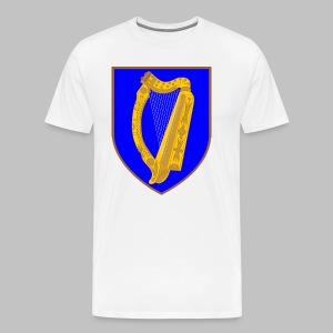 Ireland Coat Of Arms - Men's Premium T-Shirt