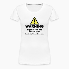 Warning! Tiger Blood and Adonis DNA Plus Size