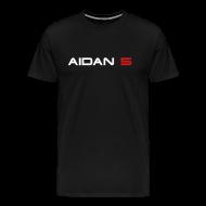 T-Shirts ~ Men's Premium T-Shirt ~ Aidan 5 Men's T-Shirt - Logo