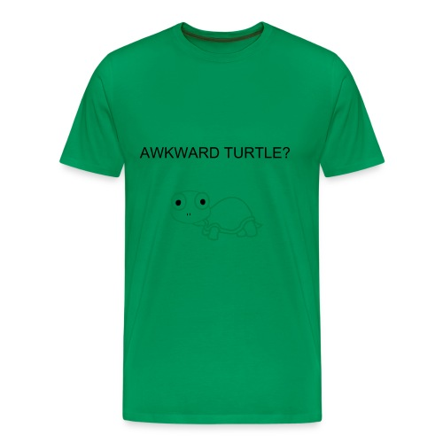 awkward turtle - Men's Premium T-Shirt