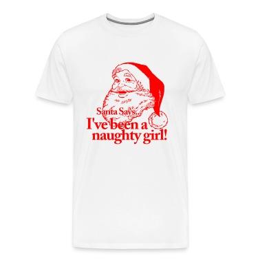 Santa Naughty Girl T-Shirts