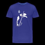 T-Shirts ~ Men's Premium T-Shirt ~ Bass Player