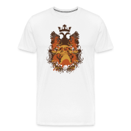 T-Shirts ~ Men's Premium T-Shirt ~ Skull Crest