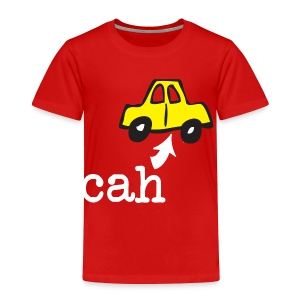Bahstin Cah Boston Toddler T-Shirt - Toddler Premium T-Shirt