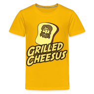 Kids' Shirts ~ Kids' Premium T-Shirt ~ GRILLED CHEESUS Kids T-SHIRT