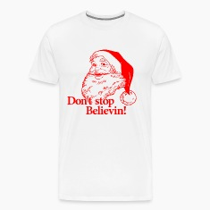 Santa Christmas Believe T-Shirts
