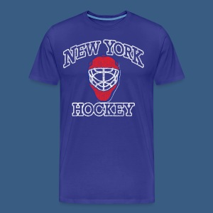New York Hockey - Men's Premium T-Shirt