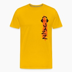 Gold jazz T-Shirts