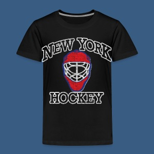 New York Hockey - Toddler Premium T-Shirt