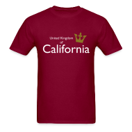 T-Shirts ~ Men's T-Shirt ~ United Kingdom of California