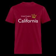 T-Shirts ~ Men's T-Shirt ~ United Kingdom of California