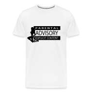 T-Shirts ~ Men's Premium T-Shirt ~ Warning sign