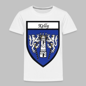 Kelly Coat of Arms 2 - Toddler Premium T-Shirt