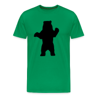 T-Shirts ~ Men's Premium T-Shirt ~ black bear green