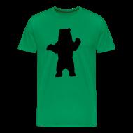 T-Shirts ~ Men's Premium T-Shirt ~ black bear green