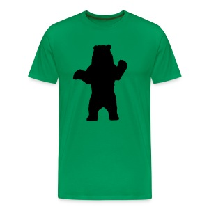 black bear green - Men's Premium T-Shirt