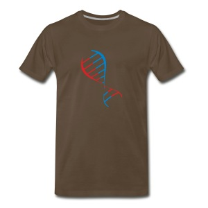 DNA strand - Men's Premium T-Shirt