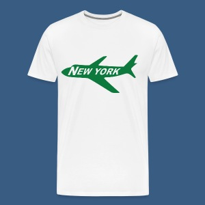 NY Jet - Men's Premium T-Shirt