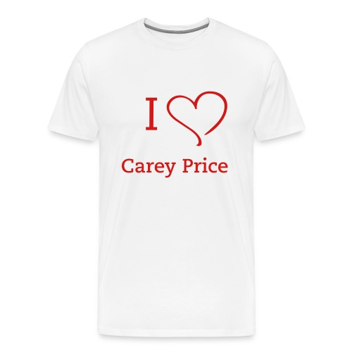 habs_fever_carey_price_001 - Men's Premium T-Shirt