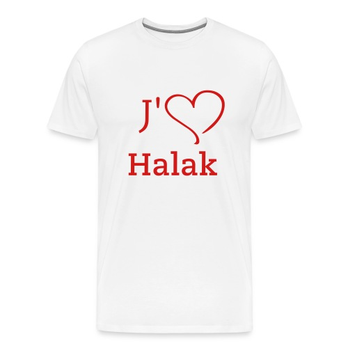 habs_fever_halak_006 - Men's Premium T-Shirt