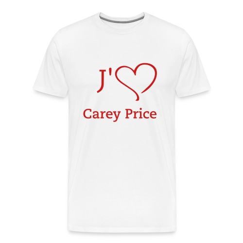 habs_fever_carey_price_002 - Men's Premium T-Shirt