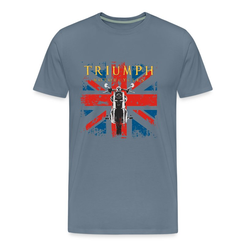 distressed triumph motorcycle t-shirt t-shirt | cycle tees