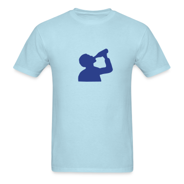 Sky blue Beer T-Shirts