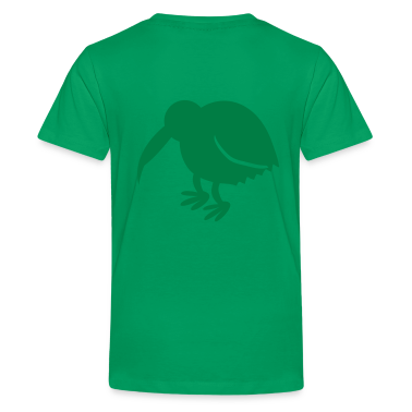 kiwi bird new zealand national icon Kids' Shirts