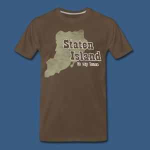 Staten Island is My Home - Men's Premium T-Shirt