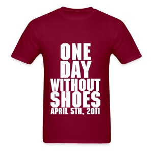 Cinco Ranch Colors One DayWithoutShoes T-Shirt - Men's T-Shirt
