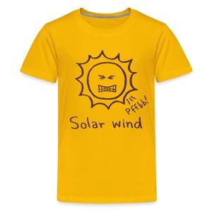 Solar Wind - Kids' Premium T-Shirt