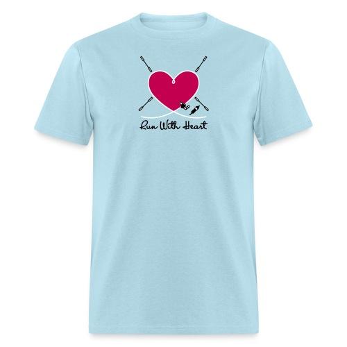 Run With Heart - Men's T-Shirt