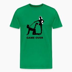 game over marriage matrimory wedlock fog haze double heiht heyday nuptials wedding zenith dominatrix lash whip slave bondman sex T-Shirts