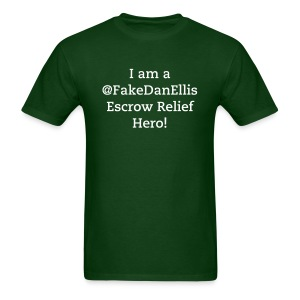 escrow relief - Men's T-Shirt