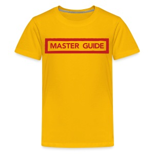 Master Guide WITH FLOCK PRINT Kids - Kids' Premium T-Shirt