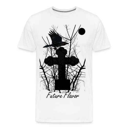 Future Flavor Crow On Tomb Tee - Men's Premium T-Shirt