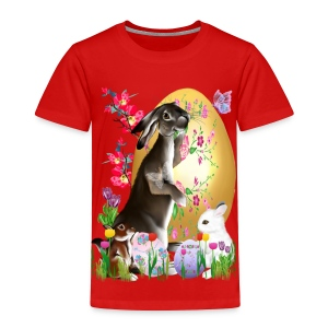 A Good Three Bunny - Toddler Premium T-Shirt