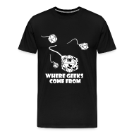 T-Shirts ~ Men's Premium T-Shirt ~ Where Geeks Come From