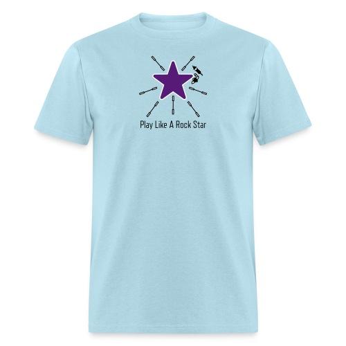 Play Like A Rock Star - Men's T-Shirt