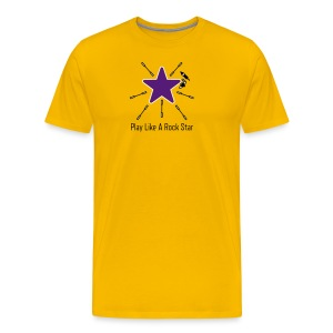 Play Like A Rock Star - Men's Premium T-Shirt